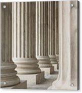 Columns Of The Supreme Court Acrylic Print