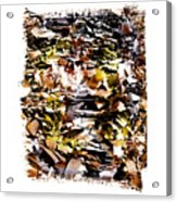 Compressed Pile Of Paper Products Acrylic Print