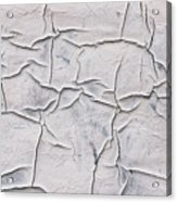 Cracked Paint Acrylic Print