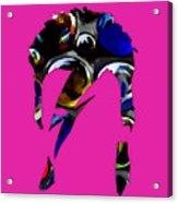 David Bowie Art Acrylic Print