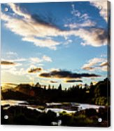 Elkton River Acrylic Print