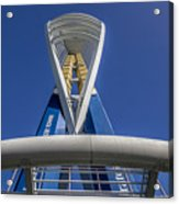 Emirates Spinnaker Tower Acrylic Print