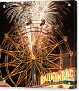 Evergreen State Fair  Acrylic Print
