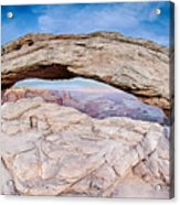 famous Mesa Arch in Canyonlands National Park Utah  USA Acrylic Print