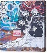 Freak Alley Boise Acrylic Print