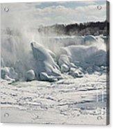 Frozen Niagara Falls Acrylic Print