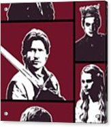 Game Of Thrones. Lannister. Acrylic Print
