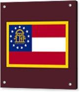Georgia Flag Acrylic Print