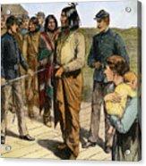 Geronimo (1829-1909) Acrylic Print by Granger