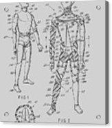 G.i. Joe Patent 1964  Acrylic Print