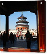Hall For Prayer Of Good Harvest, Temple Of Heaven, Beijing, China Acrylic Print