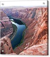 Horseshoe Bend Colorado River Arizona Usa Acrylic Print