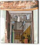 Hostal Candelaria  Acrylic Print