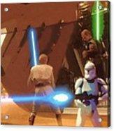 Jedi Star Wars Poster Acrylic Print