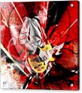Joe Bonamassa Blues Guitarist Art. Acrylic Print