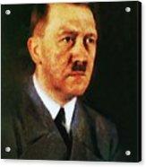 Leaders Of Wwii, Adolf Hitler Acrylic Print