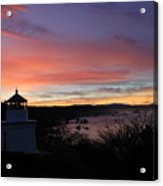 Lighthouse Sunrise Series Acrylic Print