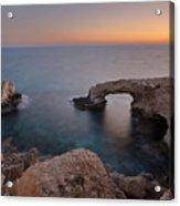 Love Bridge - Cyprus Acrylic Print