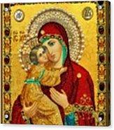 Madonna And Child Christian Art Acrylic Print