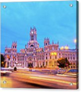 Madrid, Spain Acrylic Print
