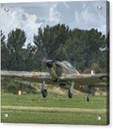 Mark 1 Hawker Hurricane Acrylic Print