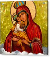 Mary And Child Religious Art Acrylic Print
