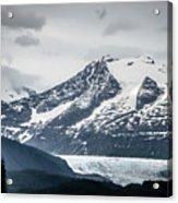 Mountain Range Scenes In June Around Juneau Alaska Acrylic Print
