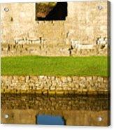 Nunney Castle Acrylic Print