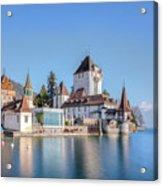 Oberhofen - Switzerland Acrylic Print