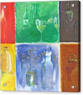 6 Panes Of Existence Acrylic Print