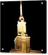 Payson Temple  Acrylic Print