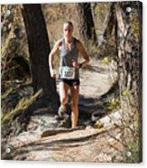 Pikes Peak Road Runners Fall Series IIi Race Acrylic Print