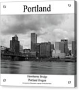 Portland Acrylic Print
