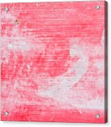 Red Wood Acrylic Print
