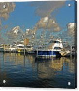 6- Sailfish Marina Acrylic Print