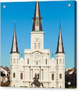 Saint Louis Cathedral Acrylic Print