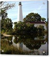 St. Mark's Lighthouse Acrylic Print