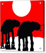 Star Wars At-at Collection Acrylic Print