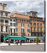 Streets Of Verona Acrylic Print