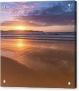 Sunrise Seascape At The Beach Acrylic Print