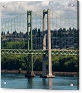 Tacoma Narrows Bridge Acrylic Print