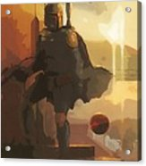 Trilogy Star Wars Art Acrylic Print