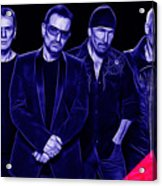 U2 Collection Acrylic Print