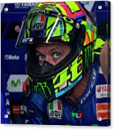 Valentino Rossi The Doctor  Acrylic Print
