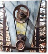 Vintage Grain Elevator Acrylic Print