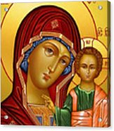 Virgin And Child Christian Art Acrylic Print