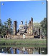 Wat Mahathat Acrylic Print