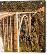 605 Det  Big Sur Bridge 2 Acrylic Print