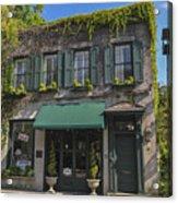 61 Queen Street In Charleston Acrylic Print