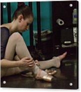 6271 Toe Shoes - Alexa  Acrylic Print